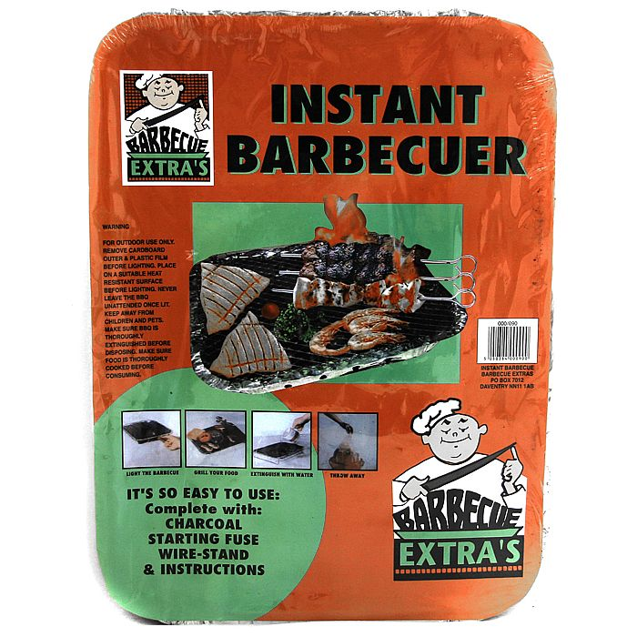 DISPOSABLE INSTANT BARBEQUE - Disposable Instant Barbeque (standard size)