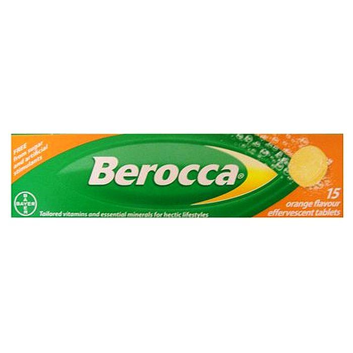 BEROCCA - Berocca Orange Flavour Effervescent Tablets