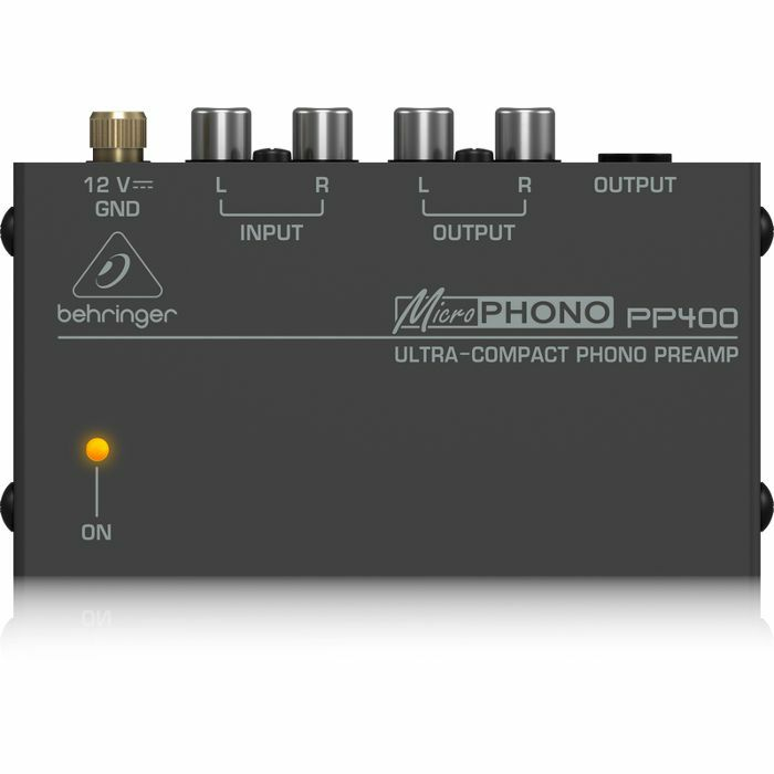 BEHRINGER - Behringer PP400 Microphono Ultra Compact Phono Preamp