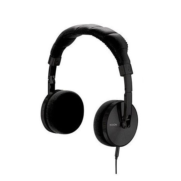 NIXON - Nixon Nomadic Headphones With Mic (all black)