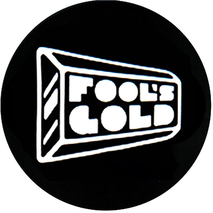 FOOL'S GOLD - Fool's Gold Slipmats (black with white logo)
