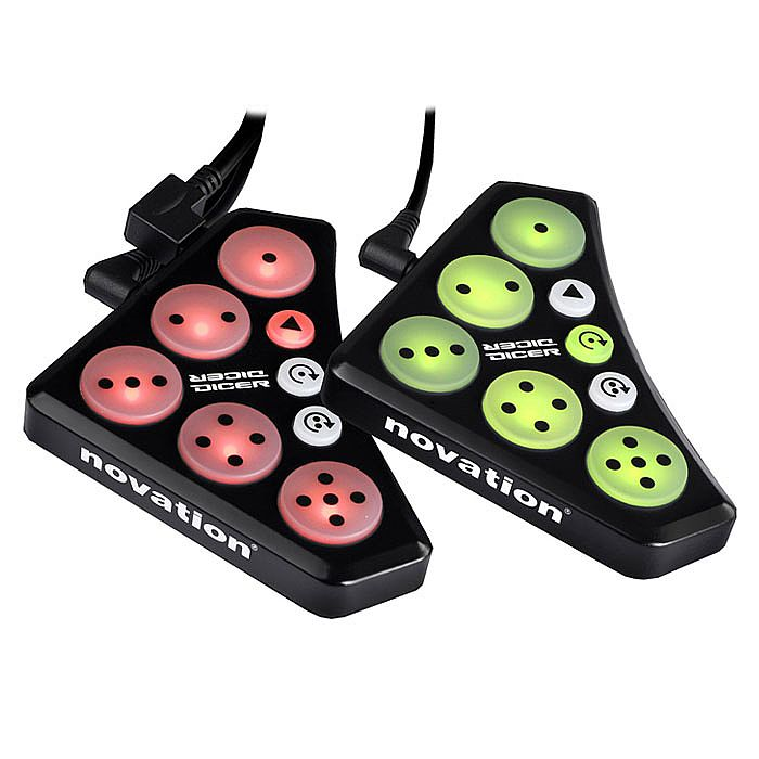 Novation Dicer MIDI USB DJ Controllers - Pair
