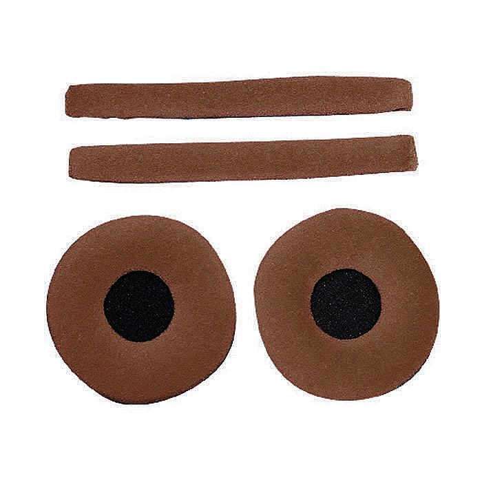 ZOMO - Zomo Replacement Earpads & Headband Pad Set For Sennheiser HD25 Headphones (velour, wood)