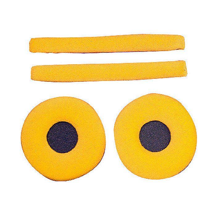 ZOMO - Zomo Replacement Earpads & Headband Pad Set For Sennheiser HD25 Headphones (velour, apricot)