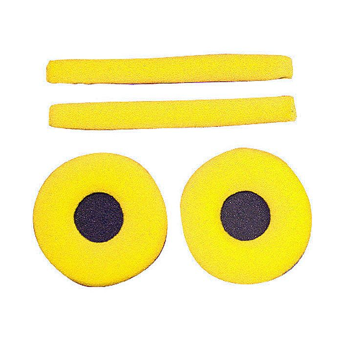 ZOMO - Zomo Replacement Earpads & Headband Pad Set For Sennheiser HD25 Headphones (velour, yellow)