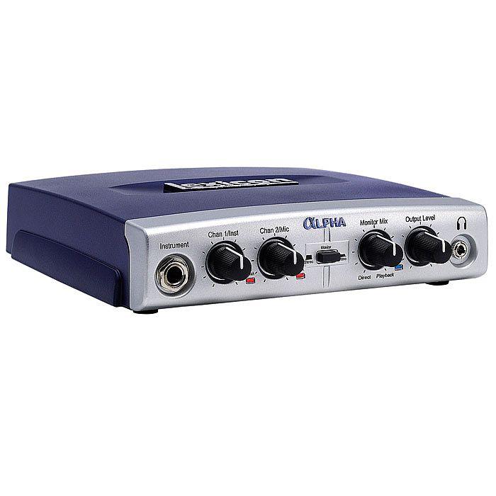 LEXICON - Lexicon Alpha 2x2x2 Desktop Recording Studio Audio Interface + Steinberg Cubase LE 4 Audio Production Software