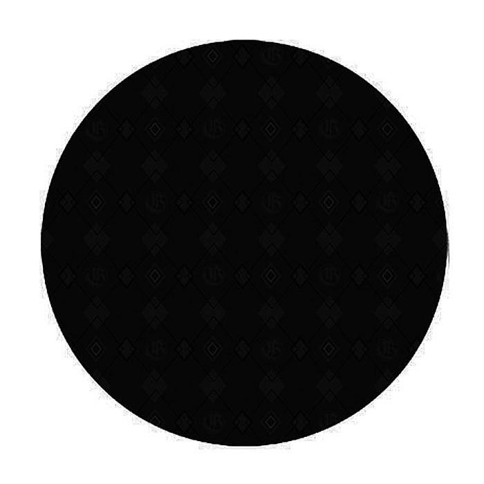 GLOWTRONICS - Glowtronics Solid Black Out Classic Non Glow Slipmats (pair)