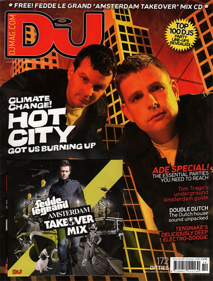 DJ MAGAZINE - DJ Magazine October 2010: Vol 4/#90 (incl. free Fedde Le Grand mix CD)