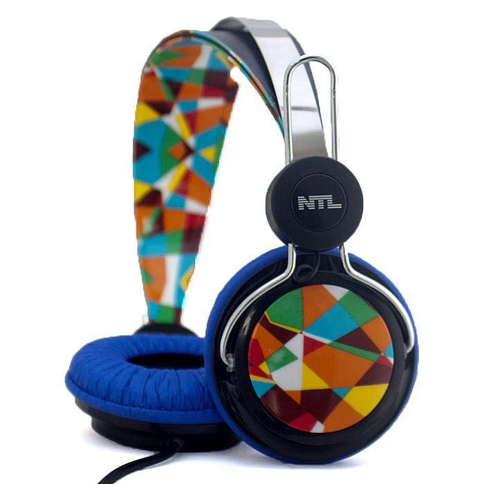 NTL - NTL Shattered Special Art Edition Headphones (black & blue)