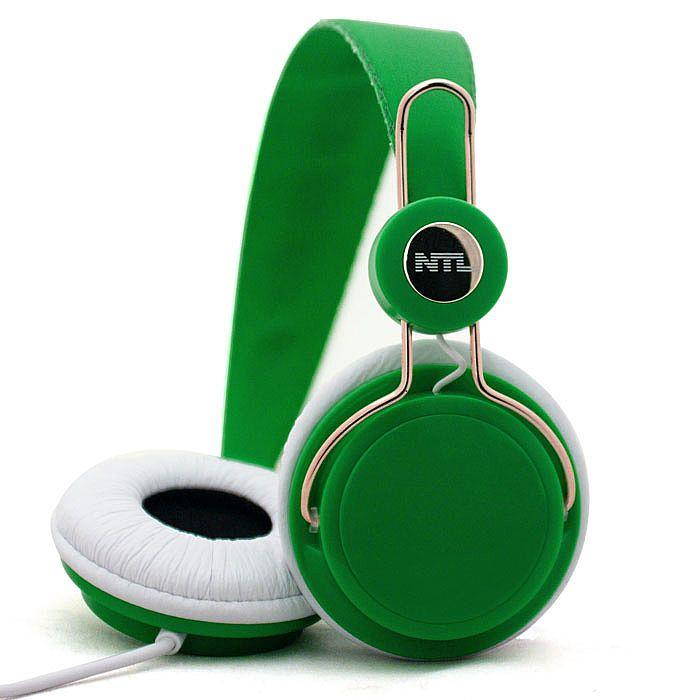 NTL - NTL Classic Headphones (green & white)