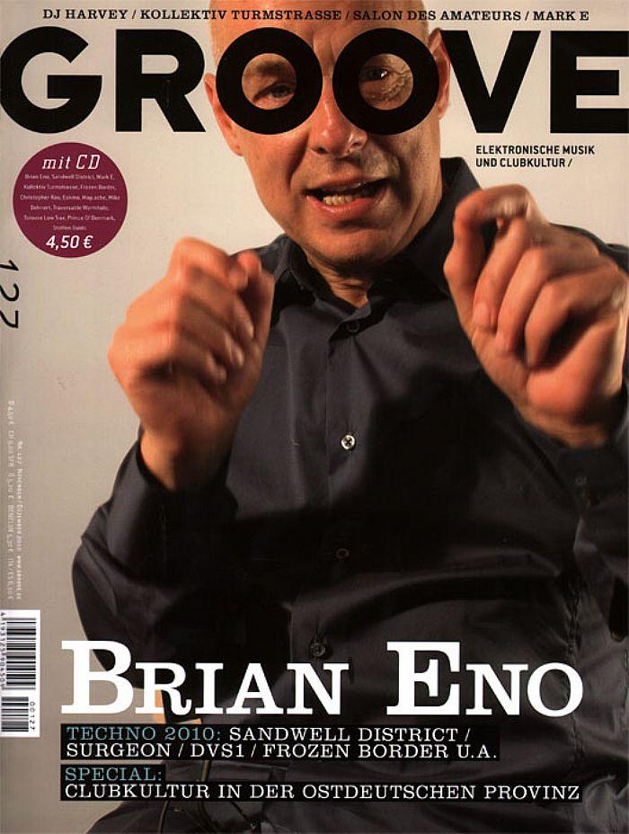 GROOVE MAGAZINE - Groove Magazine Issue 127 November/December 2010 (German language)