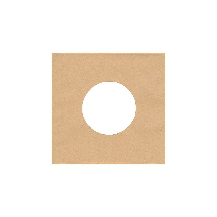 BAGS UNLIMITED - Bags Unlimited 7'' Brown Paper Record Sleeves (2 holes needs no inner sleeve, pack of 10)