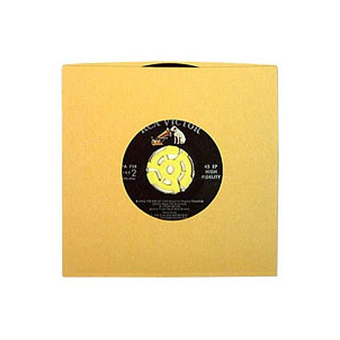 BAGS UNLIMITED - Bags Unlimited 7'' Yellow Paper Record Sleeves (pack of 50)