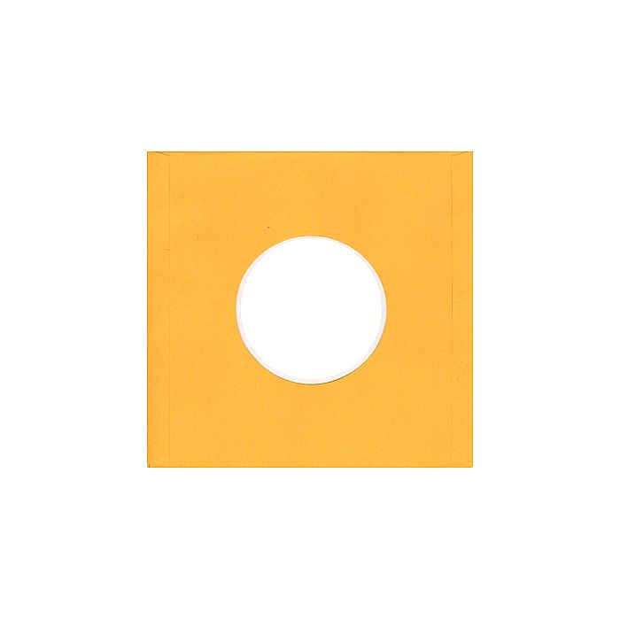 BAGS UNLIMITED - Bags Unlimited 7'' Yellow Paper Record Sleeves (pack of 10)