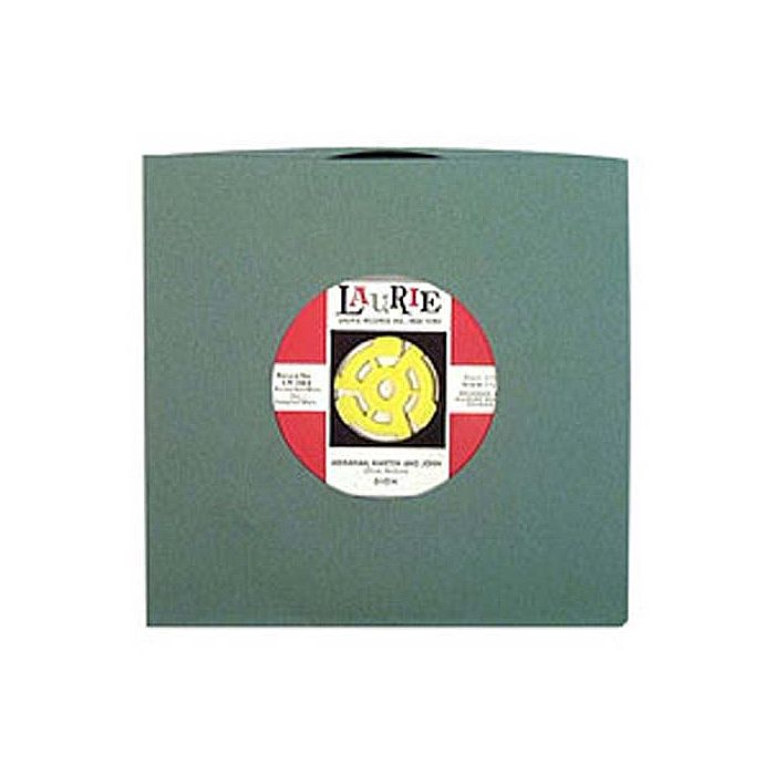 BAGS UNLIMITED - Bags Unlimited 7'' Antique Green Old Style Paper Record Sleeves (pack of 50)
