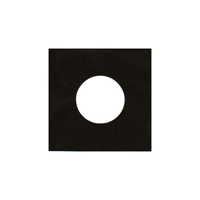 BAGS UNLIMITED - Bags Unlimited 7'' Black Paper Record Sleeves (pack of 50)