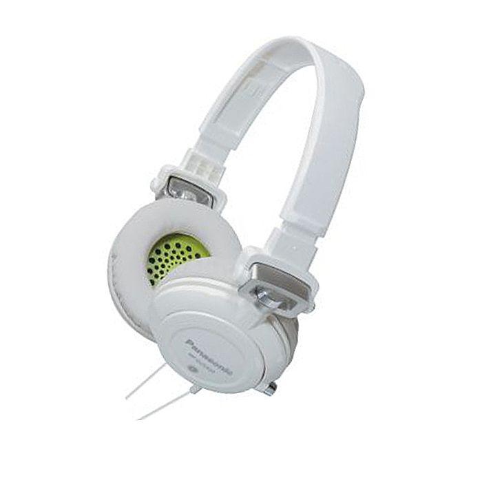 PANASONIC - Panasonic RPDJS400 Headphones (white)