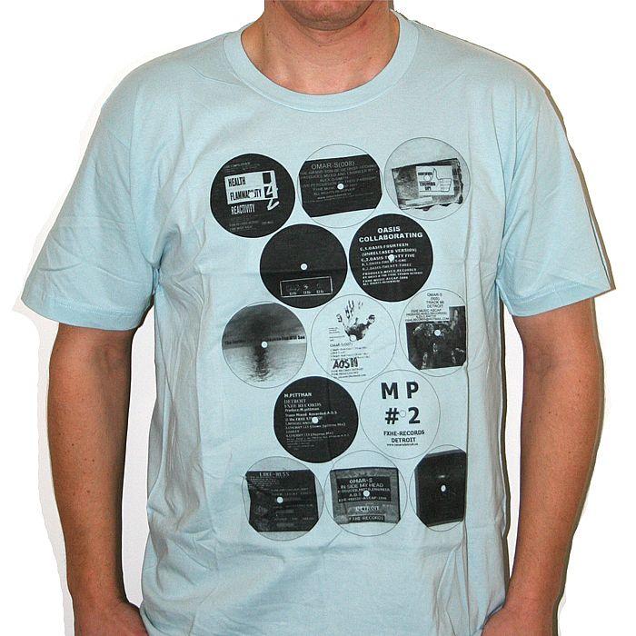 FXHE - FXHE T-shirt (light blue with black & white print)