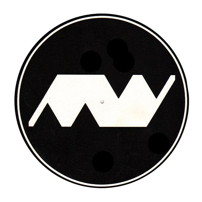 MINIMAL WAVE - Minimal Wave Slipmats (black with white logo)