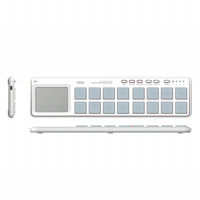 KORG - Korg NanoPad 2 USB Controller (white)