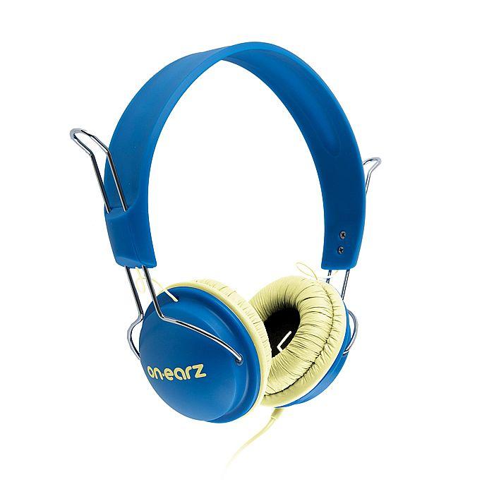 ON EARZ - On Earz Lounge Headphones (blue & yellow)