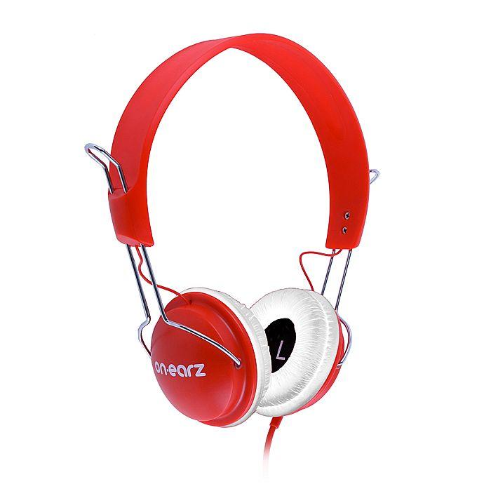 ON EARZ - On Earz Lounge Headphones (red & white)