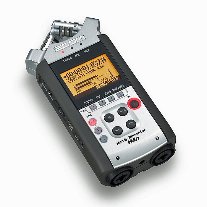 ZOOM - Zoom H4n EXT Digital Audio Recorder With Cubase LE6 Software & 2GB SD Memory Card Included