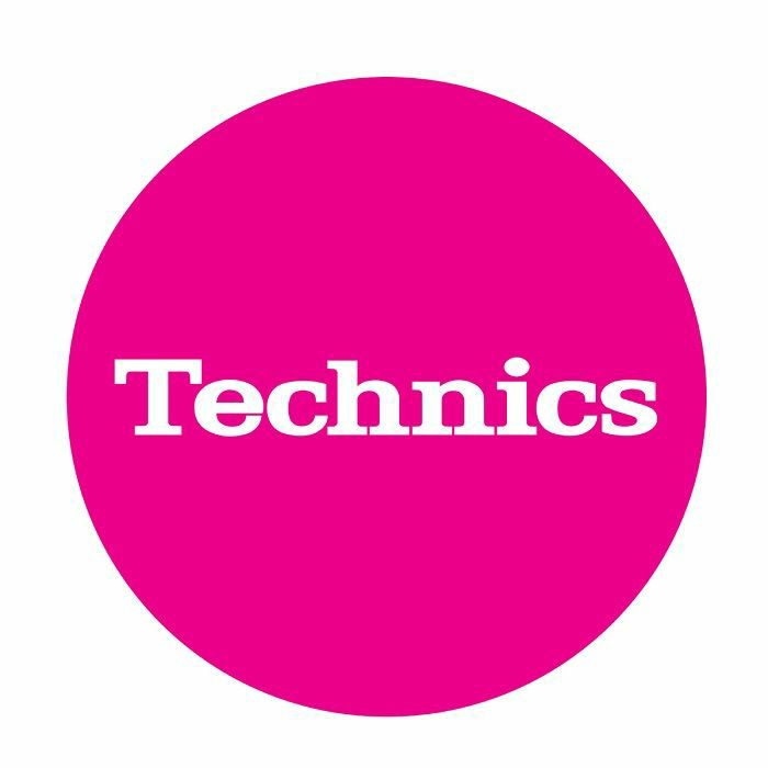 TECHNICS - Technics Simple T5 Slipmats (pink, white)