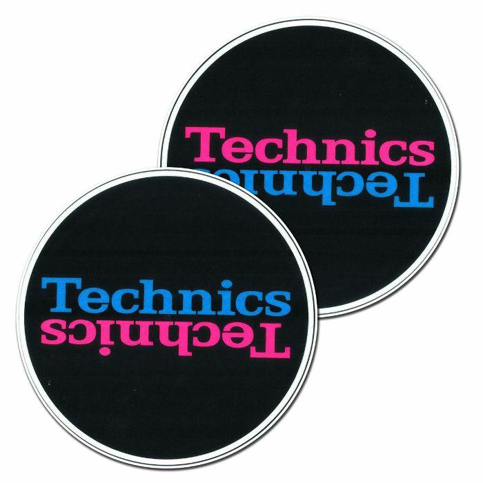 TECHNICS - Technics Duplex 5 Slipmats (black, pink, blue)
