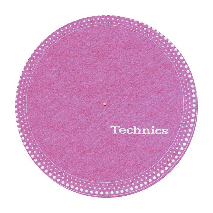TECHNICS - Technics Strobe 1 Slipmats (pink, white dots)