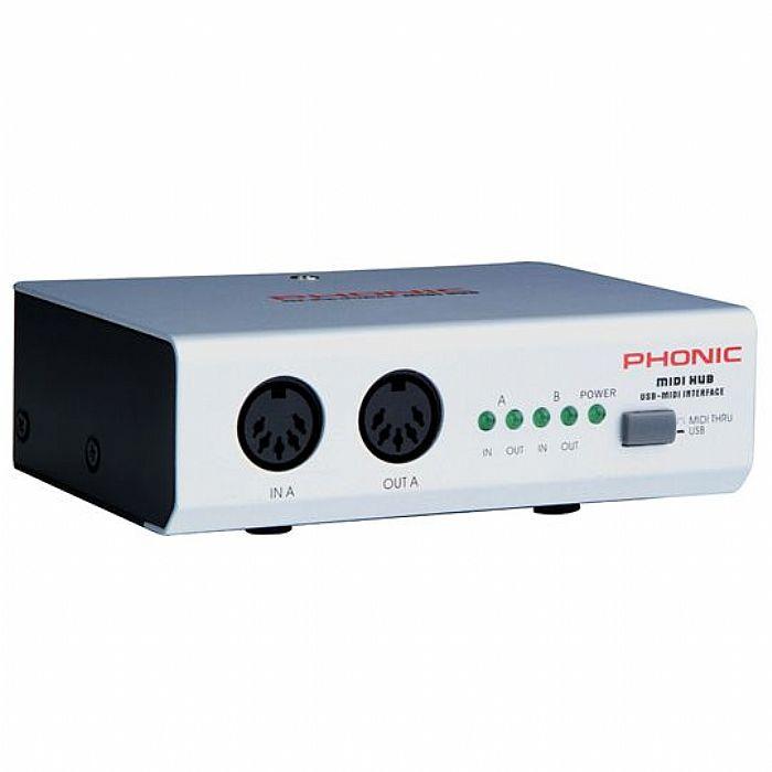 PHONIC - Phonic MIDI Hub MIDI USB Interface