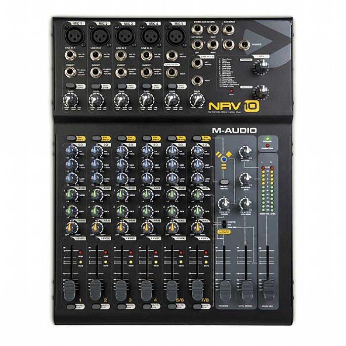 M AUDIO - M Audio NRV10 Audio Interface & Mixer