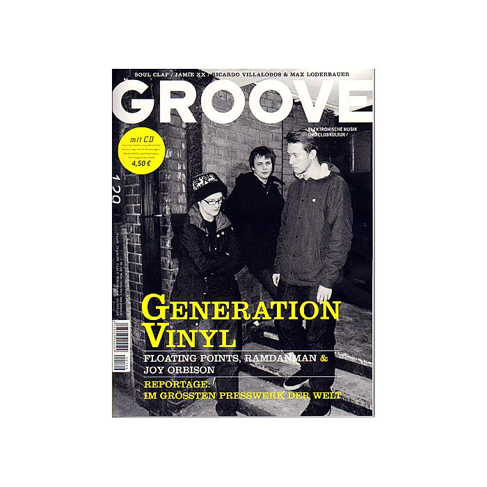 GROOVE MAGAZINE - Groove Magazine Issue 129 March/April 2011 (German language)
