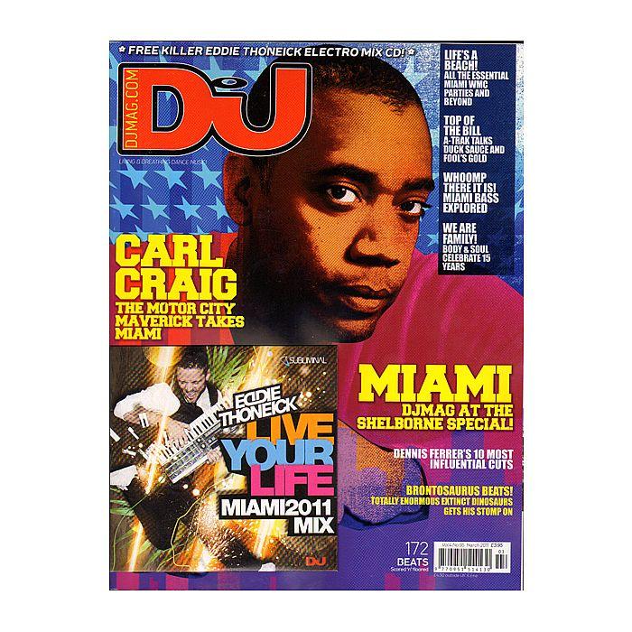 DJ MAGAZINE - DJ Magazine March 2011: Vol 4/#95 (incl. free Eddie Thoneick mix CD)