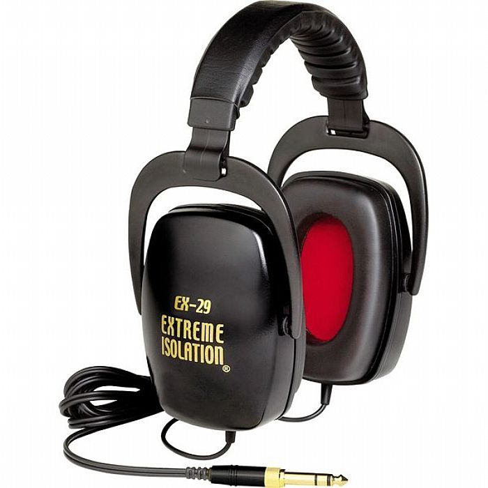 DIRECT SOUND - Direct Sound EX29 Extreme Isolation Noise Cancelling Headphones (black)