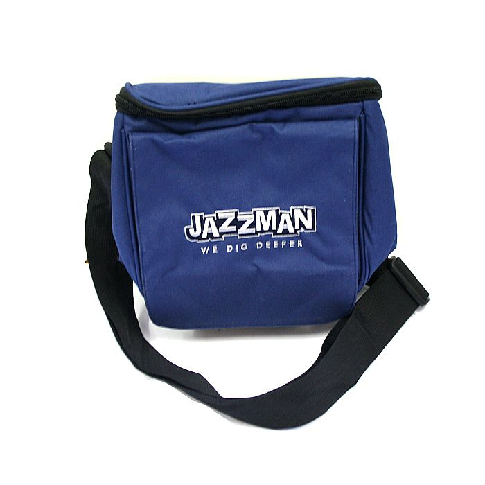 Jazzman Jazzman 7 Inch Record Bag Navy Vinyl At Juno