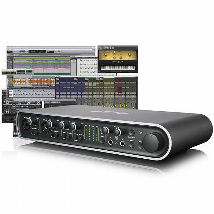 Avid Pro Tools 9 + Mbox Pro Audio Interface Music System