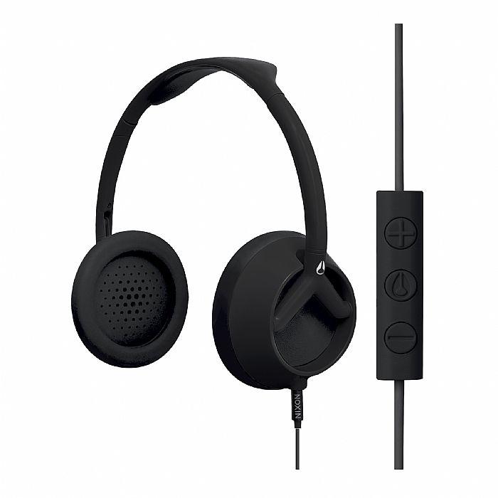 NIXON - Nixon The Trooper 3 Button Remote Mic Headphones (matte black)