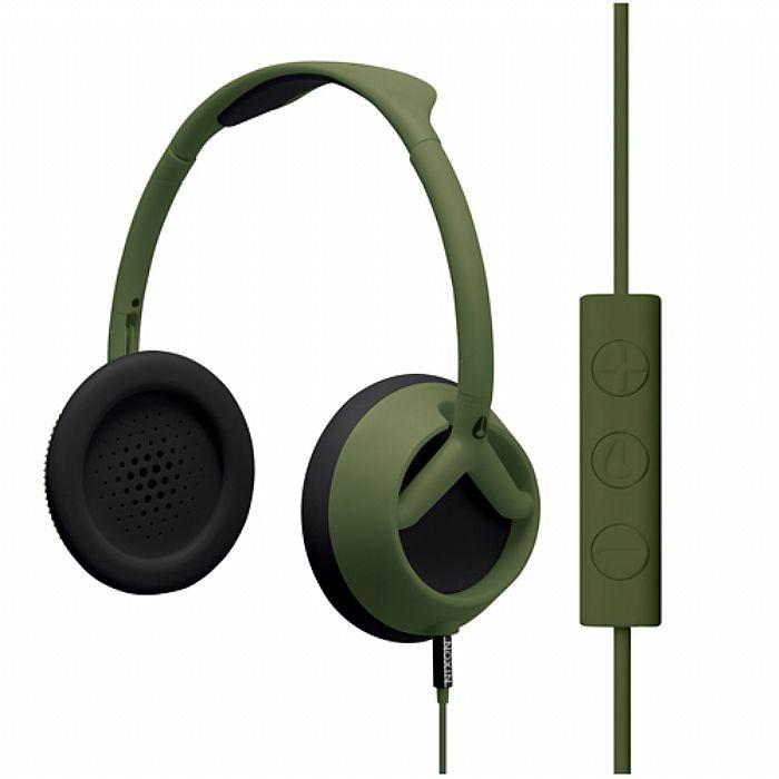NIXON - Nixon The Trooper 3 Button Headphones with Mic & Remote (matte surplus)