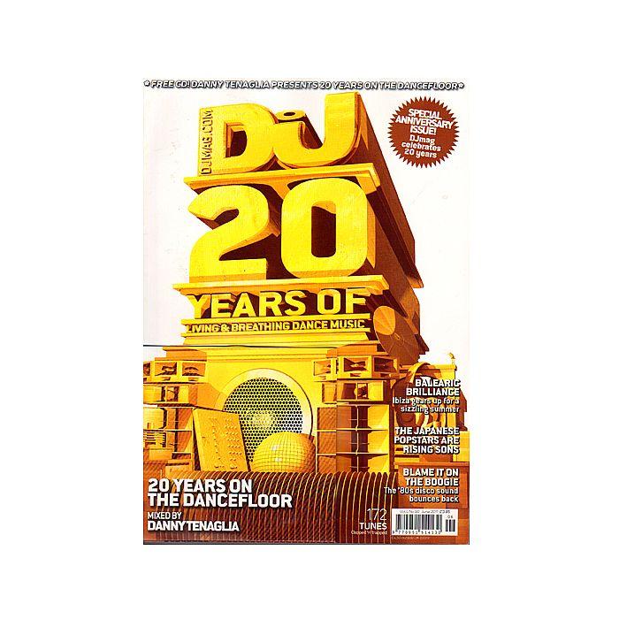 DJ MAGAZINE - DJ Magazine June 2011: Vol 4/#98 Special 20 Years Anniversary Issue (incl. free Danny Tenagla mix CD)