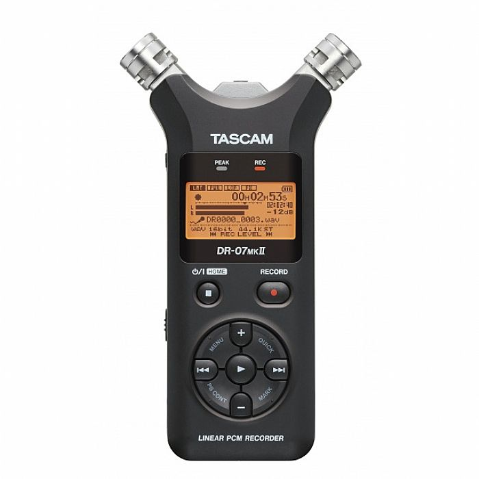 Tascam DR07 MkII Digital Audio Recorder