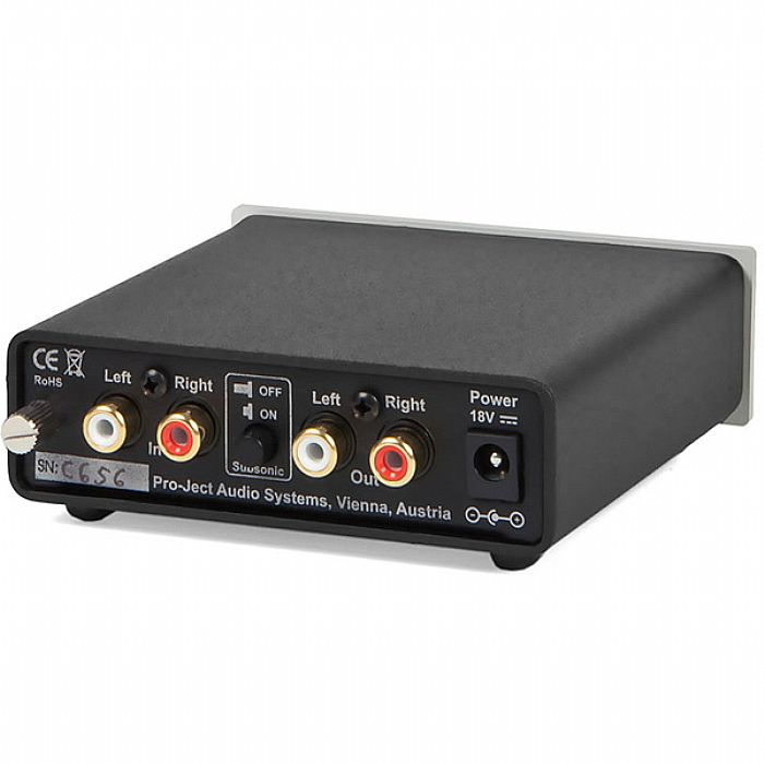PROJECT - Project Phono Box Phono Preamplifier (black)