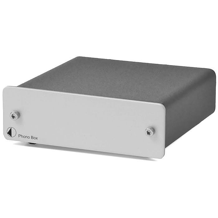 Project Phono Box Phono Preamplifier (silver)