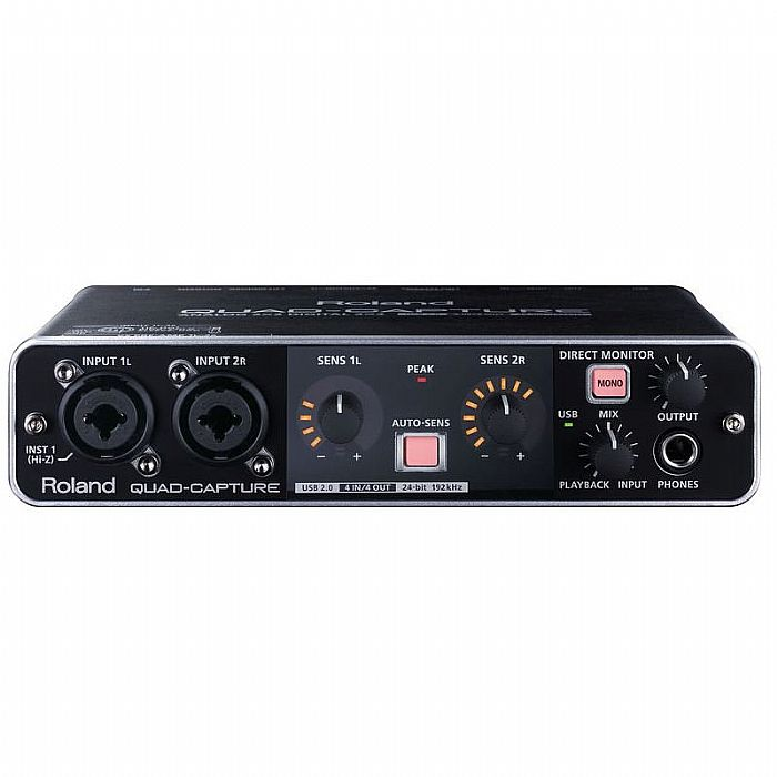 Roland UA55 Quad Capture USB 2.0 Audio & MIDI Interface