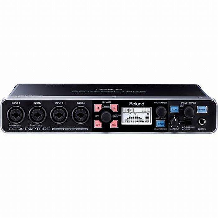 ROLAND - Roland UA1010 Octa Capture USB Audio Interface + Cakewalk Sonar X1 LE Audio Production Software