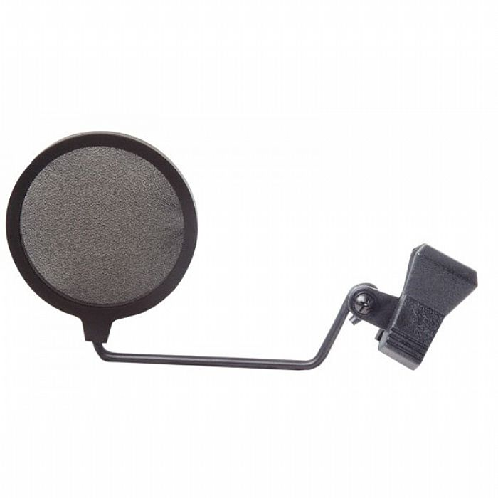 EAGLE - Eagle Pop Shield For Microphones With Spring Loaded Clip (black)