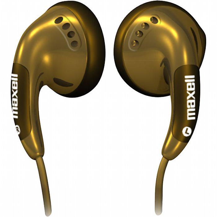 MAXELL - Maxell Colour Budz Earphones (gold)