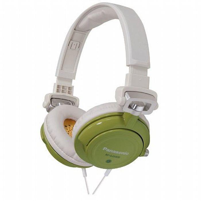 PANASONIC - Panasonic RPDJS400 Headphones (green)