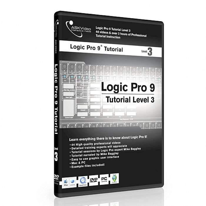 ASK VIDEO - Ask Video Logic Pro 9 Tutorial DVD Level 3