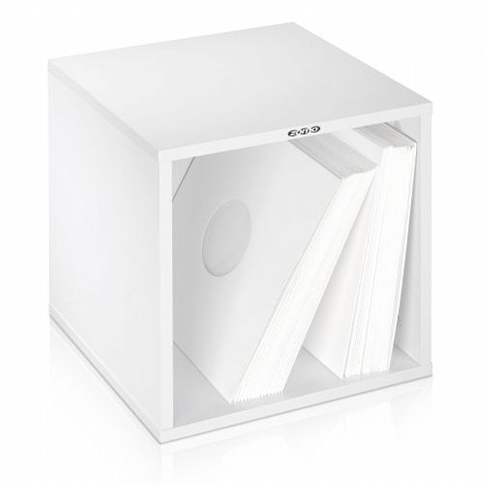 ZOMO - Zomo VSBox 12 Inch LP Vinyl Record Storage Box 100 (white, flat-packed)
